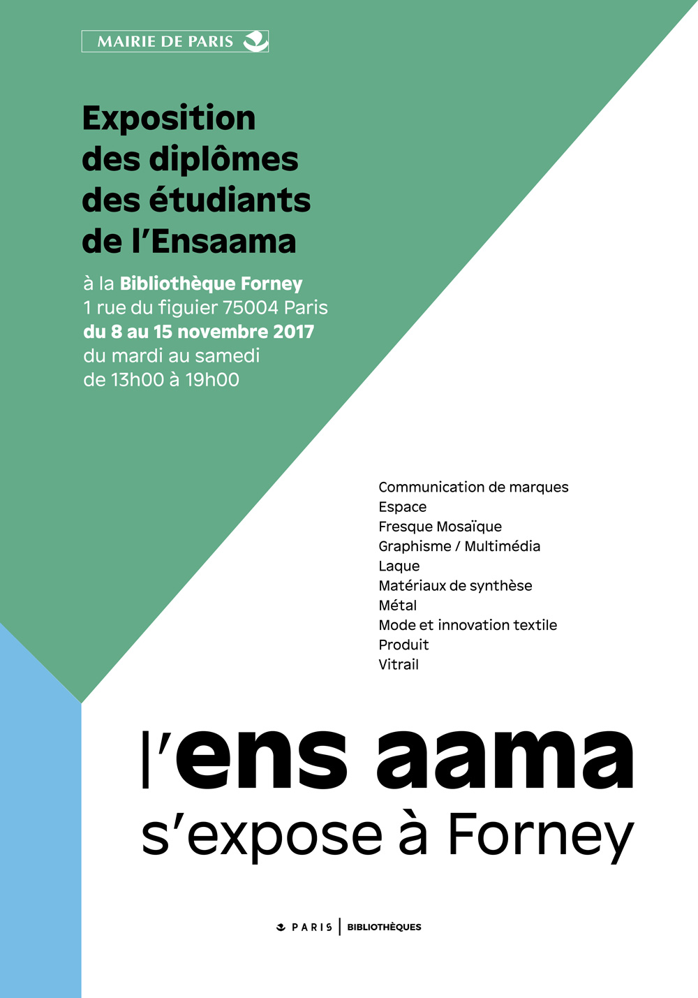 forney-ensaama_expo_affiche